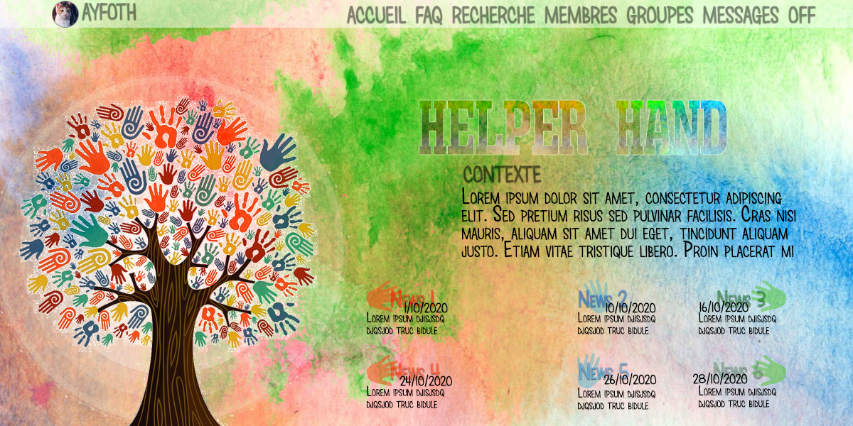 [INTERMEDIAIRE] Page d'Accueil #9 - Helper Hand - Ayfoth PA_Helper_Hand