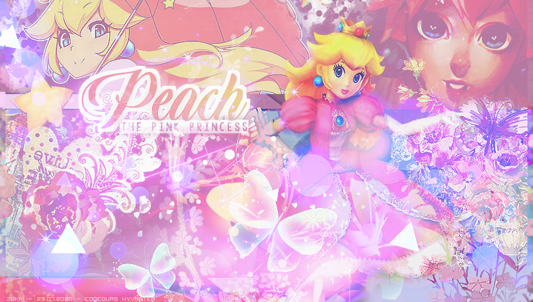 Peach, the pink princess, par Zukki